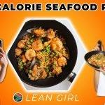LEAN GIRL - Paella baja en calorías |  Sólo 350 calorías |  Alto contenido de proteínas y súper relleno