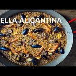 PAELLA ALICANTINA MIXTA receta Casa Arturos Paella y Arroz