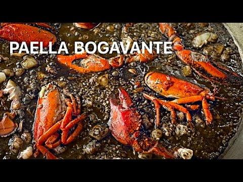 PAELLA DE BOGAVANTE Arroz Negro Casa Arturos Paella y Arroz