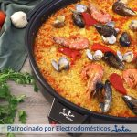 PAELLA DE MARISCO 🥘 Con mejillones, almejas, sepia y gambones 🦐 - Cocinatis