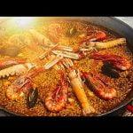PAELLA DE MARISCO VALENCIANA autentica receta Casa Arturos Paella y Arroz