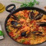 PAELLA MIXTA 🍗🦐🍅 con carne, marisco y verduras - Cocinatis