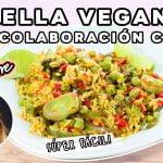 PAELLA VEGANA ft Nerea Erre / 🇪🇸RECETA ESPAÑOLA 🇪🇸 / ASAR VERDURAS