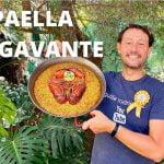 Paella de BOGAVANTE/LANGOSTA , arroz seco de marisco ,LOBSTER RICE - GUILLE RODRIGUEZ