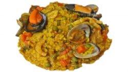 Paella mixta - Cocina andaluza y española | Andalucía Videorecetas