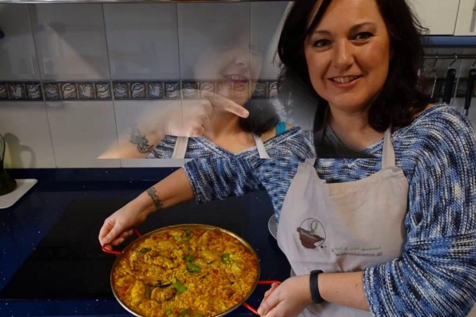 Paella mixta - Paella mixta - basada en una receta de José para Spanissimo (www.spanissimo.at)