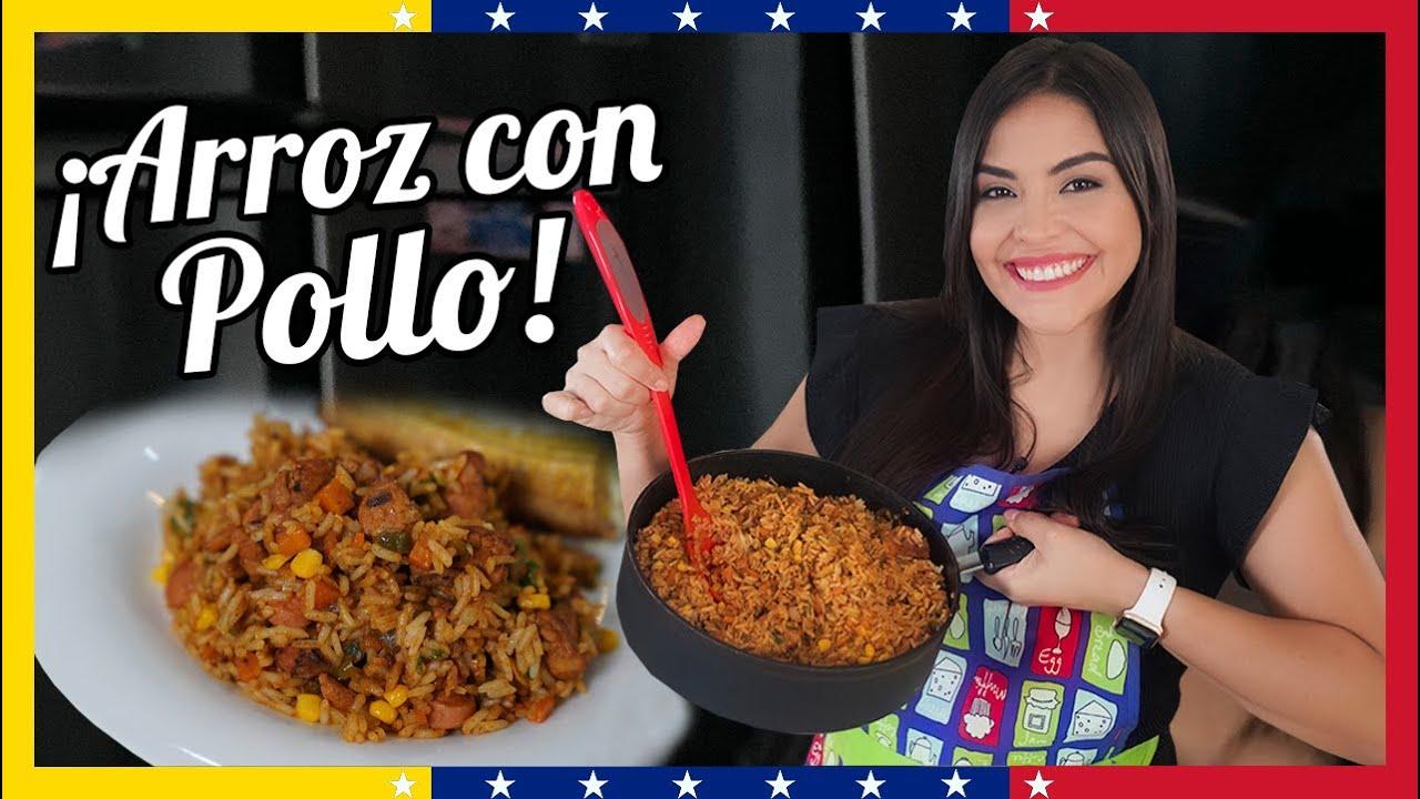 Receta de Arroz con Pollo Venezolano Rico y Fácil