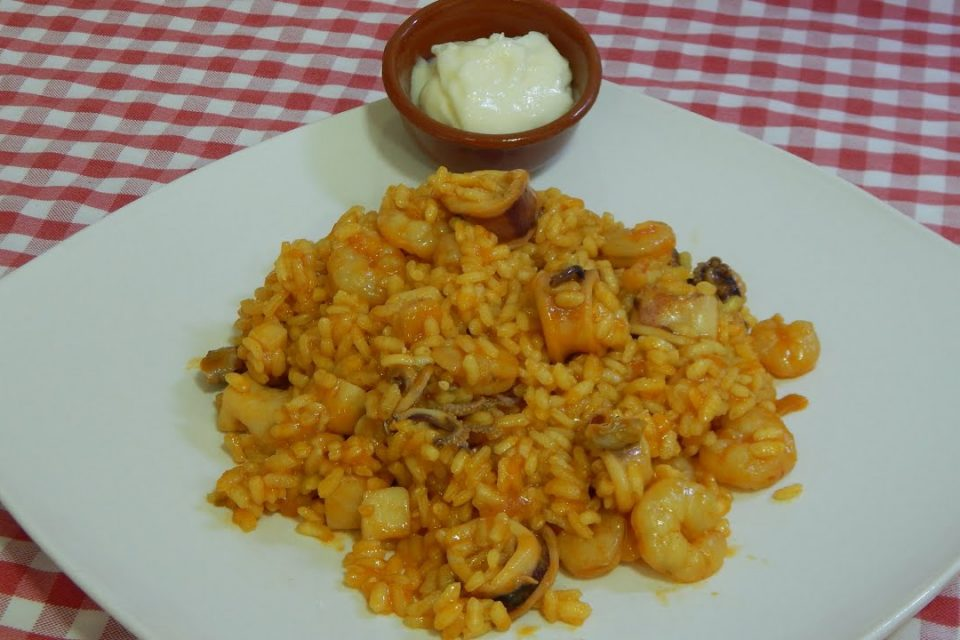 Receta de arroz limpio con alioli casero simplemente delicioso
