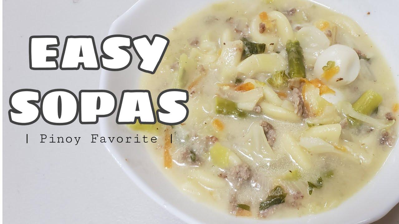 Receta fácil de sopas    Favorito de Pinoy