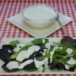 Salsa fría de queso muy cremosa Receta fácil y rápida