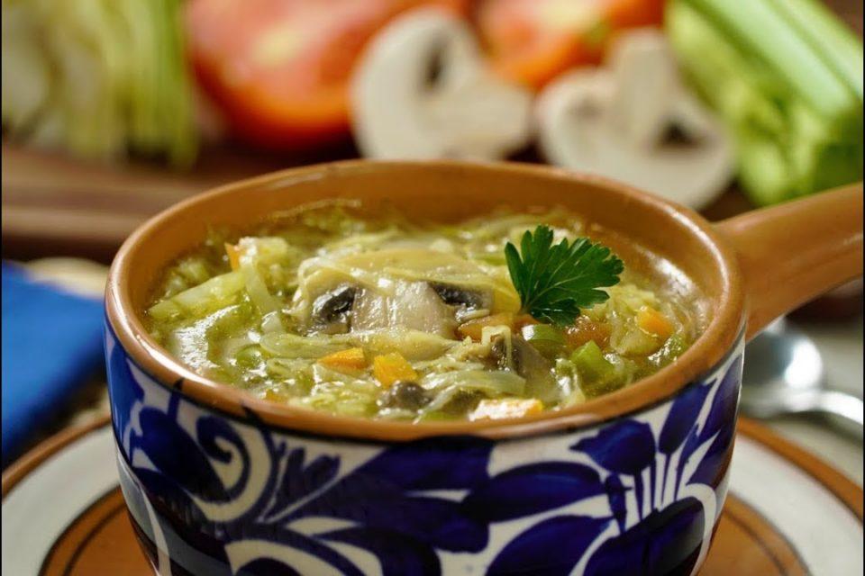 Sopa de Col para la Dieta | SOPA para DIETA