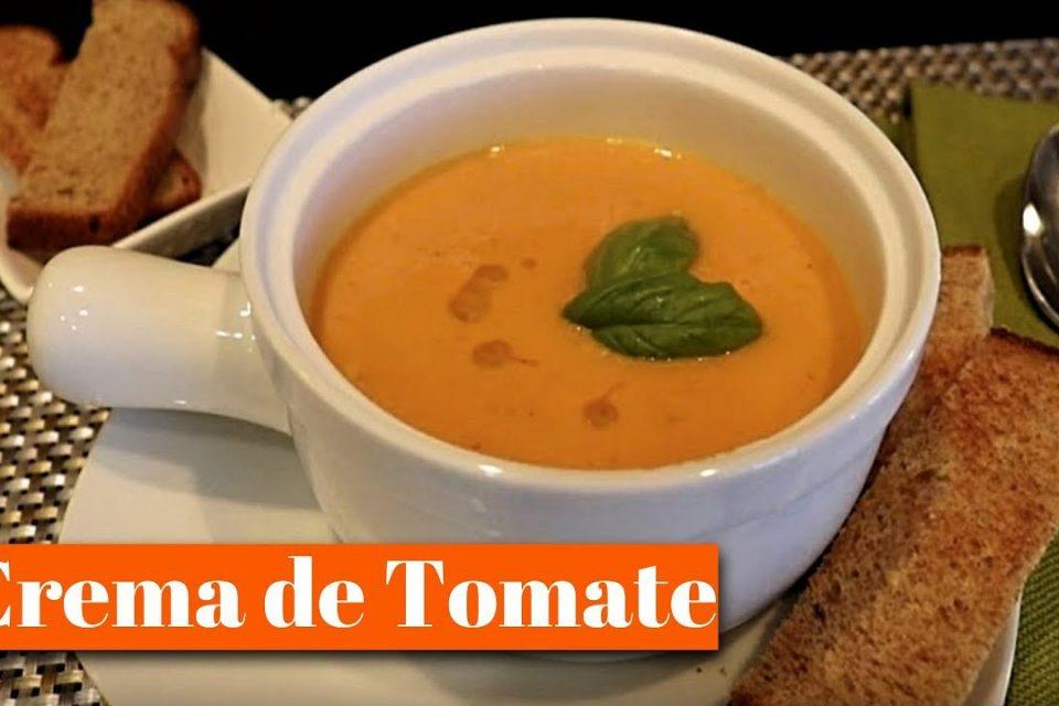 Sopa de Tomate / La Sopa mas Rica y Facil de Preparar