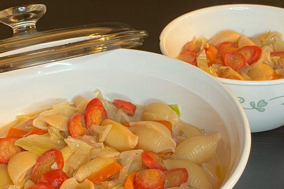 Sopa filipina cremosa