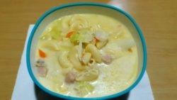 Sopas - Sopa de macarrones (casera)
