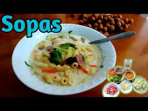 Sopas || Sopa de pollo con macarrones || Diana MirandaTV