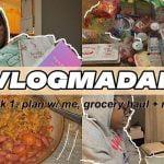 VLOGMADAN semana uno: planificar conmigo, llevar ropa interior + hacer arroz con pollo |  SincerelyTahiry (tarde af) ✨