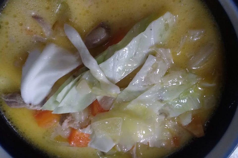 sopa de pollo y macarrones |  sopas |  felices 100 suscriptores a nosotros