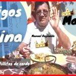 🍗🥩AMIGOS EN LA COCINA... MANUEL REYNALDO👑👑 ...hoy Cocina pAella con Costillitas de CErdo🐷🐷🐷