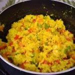 ARROZ CON POLLO Y CÚRCUMA😋🥘/Cocinando con Camila👩🍳💕