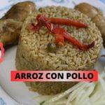 ARROZ CON POLLO(MI PERU QUERIDO), COMIDA BIEN PERUANA, A COMER RICO, ARROCITO VERDE DELICIOSO🤗.