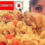 ASMR COMIENDO ARROZ CON POLLO & FRIJOLES | PERUVIAN FOOD MUKBANG | Eating Show