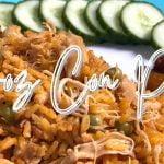 Arroz Con Pollo |  Arroz amarillo con pollo a la cubana