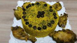 Arroz con Pollo al Vapor - La receta de pollo con rosas es crujiente, deliciosa y sencilla