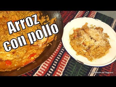 """Arroz con pollo muy fácil """"El Rincón del Soguero Cocina"""""""