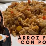 🍚 Cómo hacer arroz frito chino con pollo | Recetas comida asiática fácil