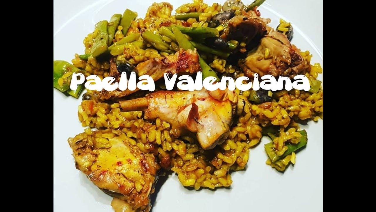"""Cómo preparar *""""Paella Valenciana""""*"""