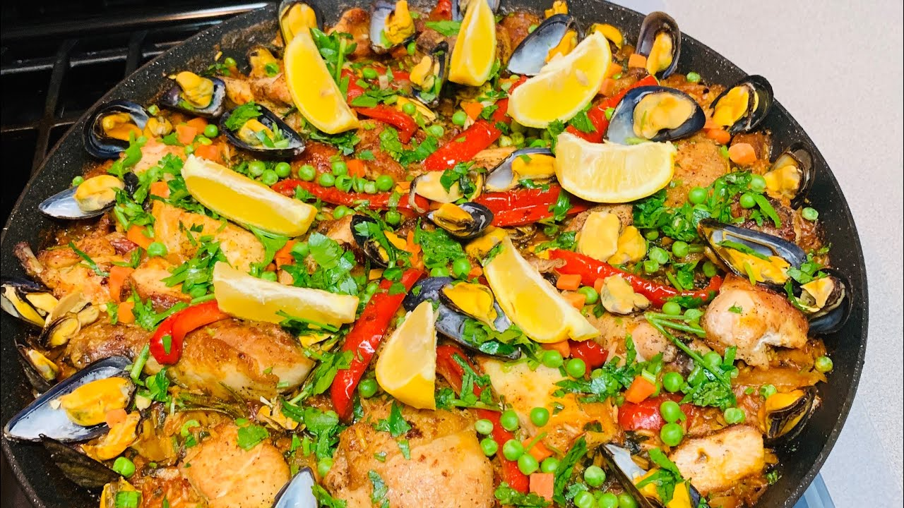 Homemade Paella From Spain ~ Made By Mama
