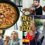 Mi Amiga Española Nos Hace Paella En Turquía 🇹🇷 ¿Nos Gustó? | Mexicana En Turquía