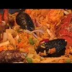 PAELLA DE MARISCOS ARROZ A LA ESTILO ESPAÑOL (cargada de sabor)