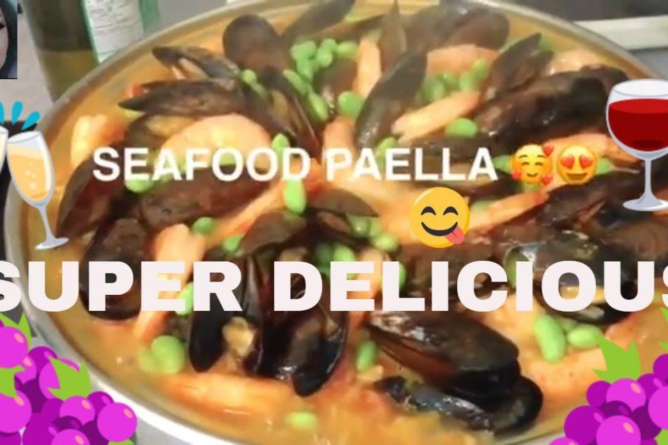 PAELLA DE MARISCOS SUPER DELICIOSA