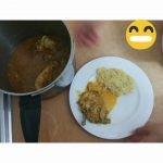 Pollo con arroz y patata. Fácil y rico👍👍👍