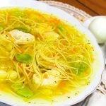 Sopa de Pollo SUPER FACIL Y DELICIOSA | Sazón y Corazón