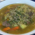 Sopa de trigo   BUENAZO!