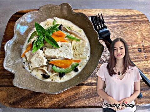 Sopas con Tofu
