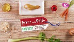 Tarritos caseros de arroz con pollo | Recetas Hero