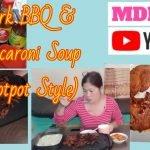 barbacoa de cerdo y sopa (estilo estofado)