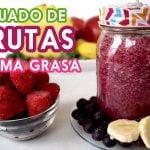 Licuados de frutas para bajar de peso - Licuado quema grasa