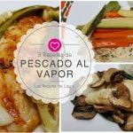 3 recetas de PESCADO EMPAPELADO para la dieta  ❤ Las Recetas de Laura Recetas Saludables