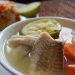 Caldo de Pescado con verduras♥Caldo de Oso♥Recetas Saludables para perder peso