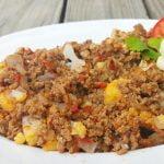 Como cocinar CARNE MOLIDA ¡sin grasa! ❤ Receta guisado Las Recetas de Laura ❤ Comida Saludable