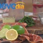 ¡Pierde peso con bicarbonato de sodio y jugo de limón! | Un Nuevo Día | Telemundo