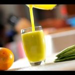 Jugo de naranja con nopal - Recetas de cocina- Recetas de jugos naturales para bajar de peso