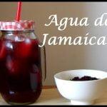 Agua de jamaica | Para bajar de peso | Receta | Una Chef en la Cocina