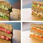 5 Recetas de Sándwiches Saludables Para Bajar de Peso (Variados)