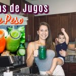 3 Recetas De Jugos Verdes Deliciosos Para Bajar De Peso ‼️ Súper Rápido ‼️