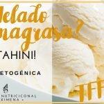 NUTRICIÓN PARA PERDER PESO: RECETA HELADO QUEMAGRASA DE TAHINI KETO | DIETA CETOGENICA Y VIDA SANA